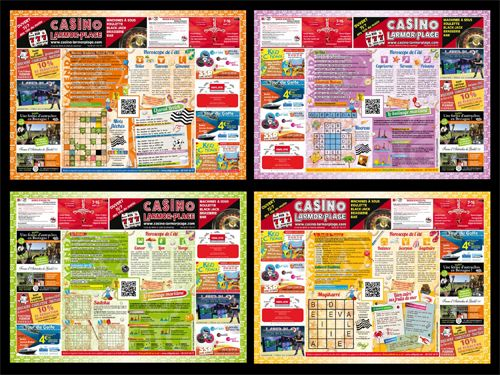 Les sets de table publicitaires celti grafy Set de table a personnaliser